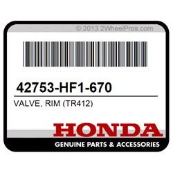 Tr412 Rim Honda 42753-Hf1-670 Valve Rims Wheel Accessories & Parts ...