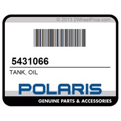 Polaris 5431066 Polaris Oil Tank QTY 1