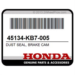 BRAKE CAM HONDA 45134-KB7-005 DUST SEAL