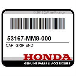 HANDLE R HONDA 53175-MR1-305 LEVER