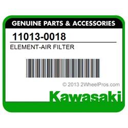 Kawasaki Teryx 750 OEM Air Filter 11013-0018
