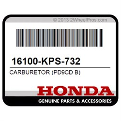 New Genuine Honda Carburetor Assembly 2006-2007 CRF230F OEM 16100-KPS-732