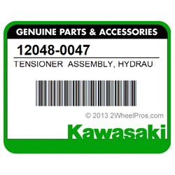 Kawasaki 2008-2018 Concours 14 Assembly Hydrau Tensioner 12048-0047 New Oem