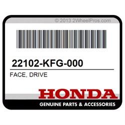 DRIVE HONDA 22102-KFG-000 FACE