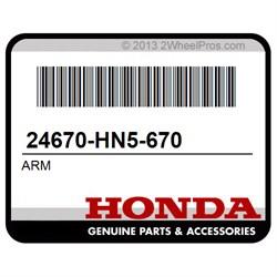 Honda 24670-HN5-670 ARM