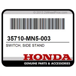 HONDA GL1500 SIDE KICK STAND SWITCH GOLD WING 35710-MN5-003