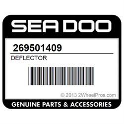 Seadoo OEM RIGHT DEFLECTOR 269501409 RXT 2005 2006 2007 2008//RXT-X RXT 215 2009