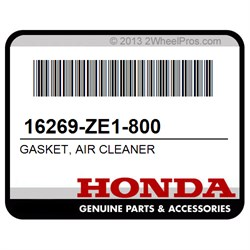 Honda 16269-ZE1-800 GASKET  AIR CLEANER