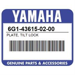 PLATE  TILT LOCK Yamaha 6G1-43615-02-00