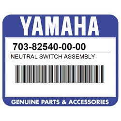 NEUTRAL SWITCH ASY Yamaha 703-82540-00-00