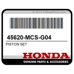Honda OEM Part 45620-MCS-G04