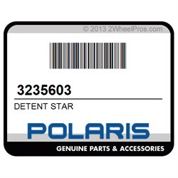 Polaris DETENT STAR 3235603 New OEM