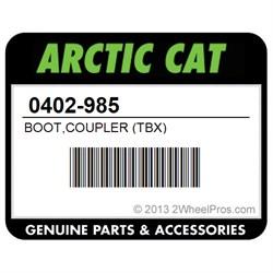 TBX Arctic Cat 0402-985 BOOT,COUPLER