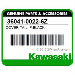 Kawasaki COVER-TAILF.BLACK 36041-0022-6Z